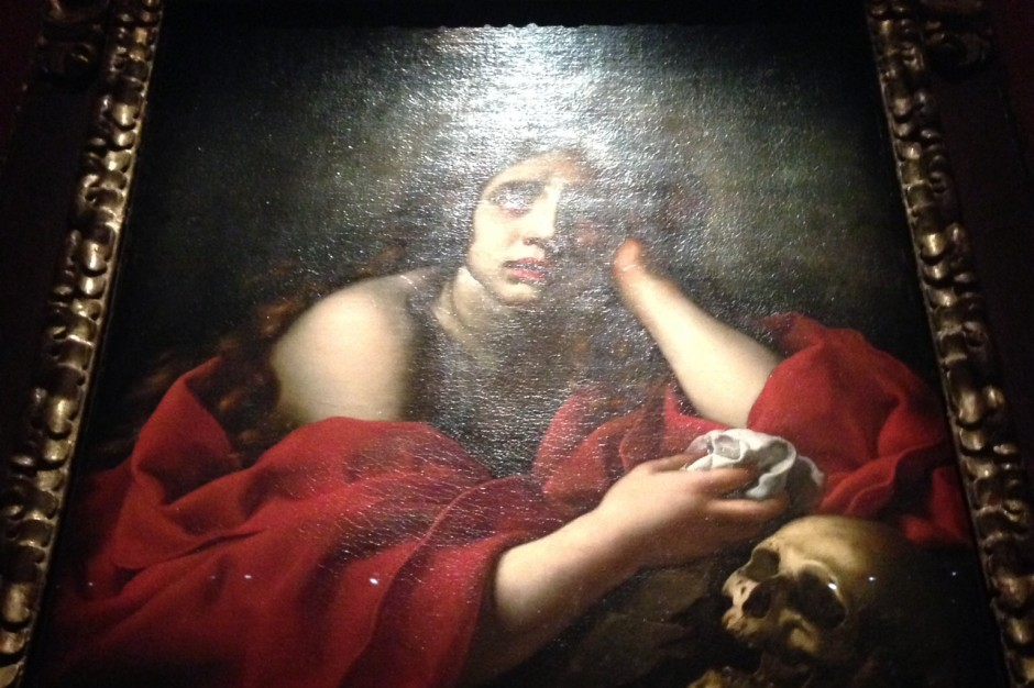 The Penitent Magdalen Carlo Dolci,